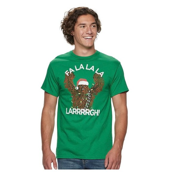 Star Wars Chewbacca Fa-la-la-la Men's T-Shirt